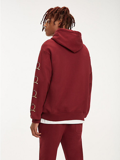 TOMMY JEANS Hoodie mit Wappenmuster - CABERNET - TOMMY JEANS TOMMY JEANS Capsule - main image 1