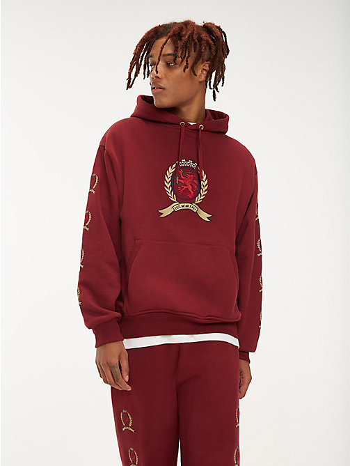 TOMMY JEANS Hoodie mit Wappenmuster - CABERNET - TOMMY JEANS TOMMY JEANS Capsule - main image