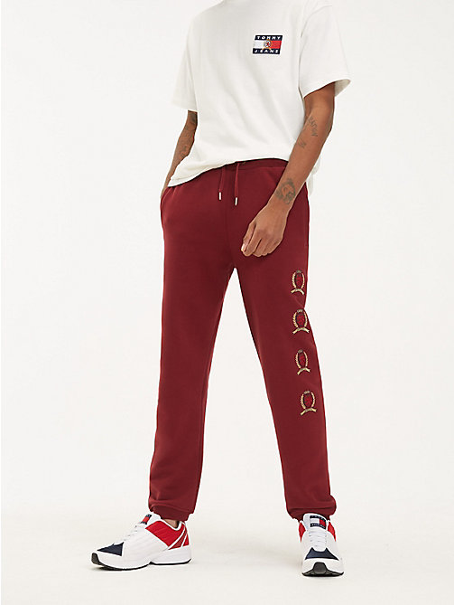 TOMMY JEANS Спортивные брюки с логотипом - CABERNET - TOMMY JEANS TOMMY JEANS Capsule - главное изображение