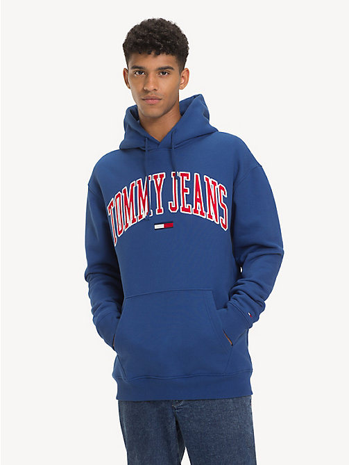 TOMMY JEANS Tommy Classics Logo Hoody - LIMOGES - TOMMY JEANS Sweatshirts & Hoodies - main image