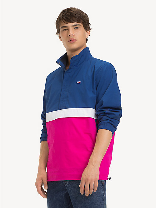 TOMMY JEANS Lightweight Colour-Blocked Jacket - LIMOGES / MULTI - TOMMY JEANS Coats & Jackets - main image
