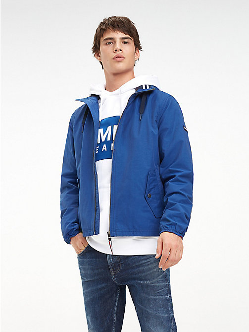 TOMMY JEANS Essential Hooded Jacket - LIMOGES - TOMMY JEANS Coats & Jackets - main image