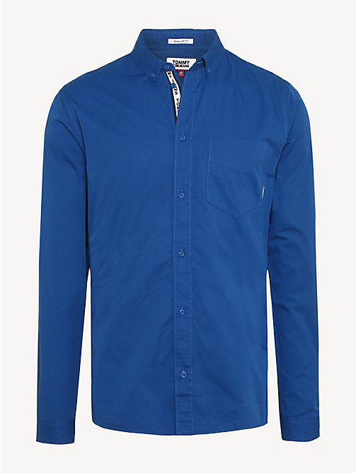 TOMMY JEANS Cotton Twill Regular Fit Shirt - LIMOGES - TOMMY JEANS Shirts - detail image 1