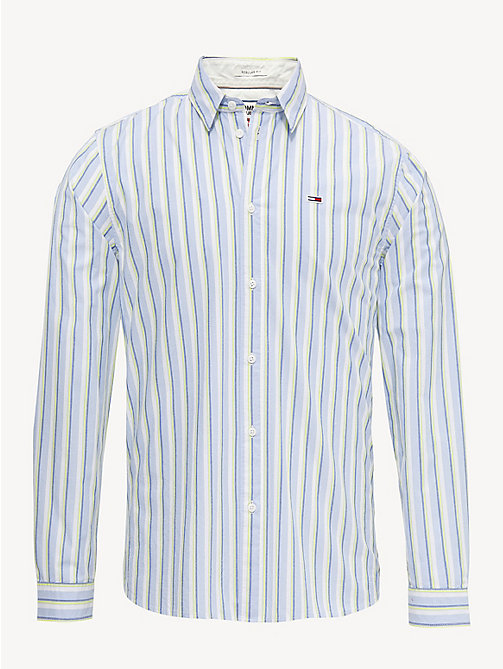 TOMMY JEANS Essential Stripe Print Shirt - LAVENDER LUSTRE / MULTI - TOMMY JEANS Shirts - detail image 1