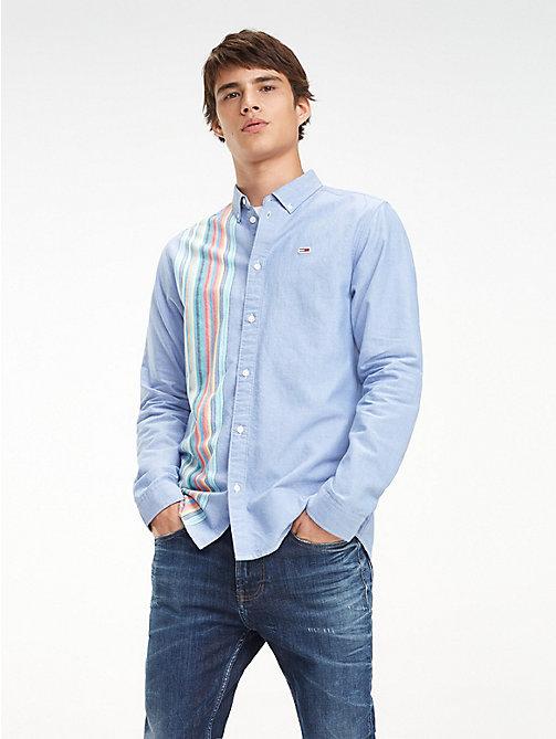 1cc1aaf6ea85a TOMMY JEANSPure Cotton Multicolour Stripe Shirt