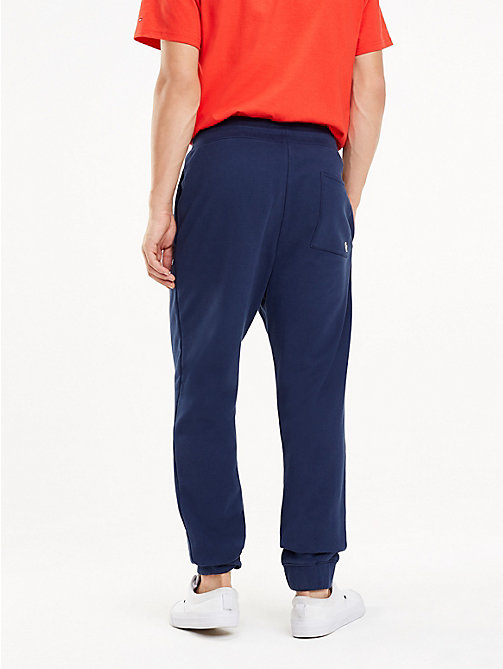 TOMMY JEANS Tommy Classics Organic Cotton Joggers - BLACK IRIS - TOMMY JEANS Trousers & Shorts - detail image 1