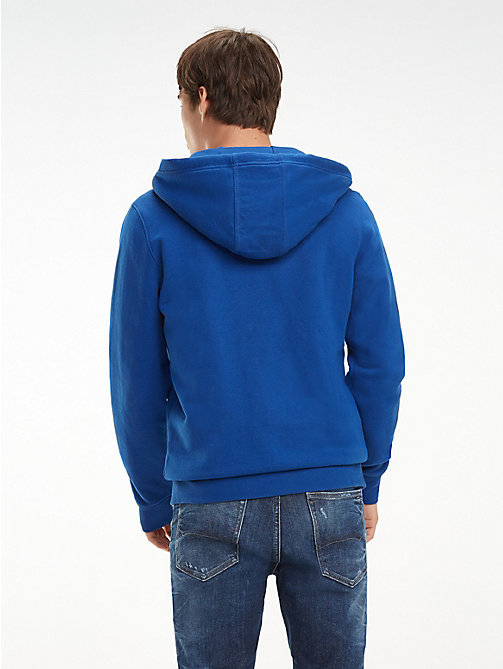 TOMMY JEANS Essential Graphic Zip-Thru Hoody - LIMOGES - TOMMY JEANS Sweatshirts & Hoodies - detail image 1