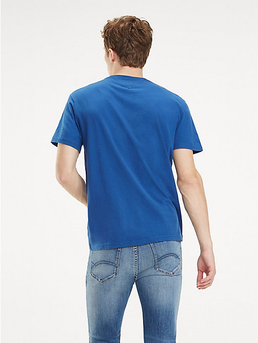 TOMMY JEANS Essential Organic Cotton T-Shirt - LIMOGES - TOMMY JEANS T-Shirts & Polos - detail image 1