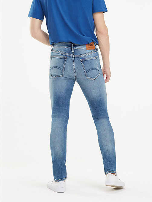 TOMMY JEANS Vintage Skinny Fit Jeans - FALCON MID BLUE STR - TOMMY JEANS Jeans - detail image 1