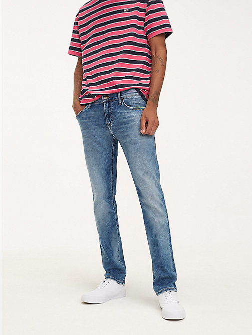 TOMMY JEANS Scanton Slim Fit Jeans - FALCON MID BLUE STR - TOMMY JEANS Jeans - main image