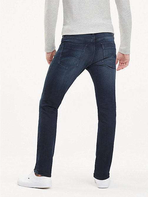 TOMMY JEANS Scanton Faded Slim Fit Jeans - LODGE DARK BLUE STR - TOMMY JEANS Jeans - detail image 1