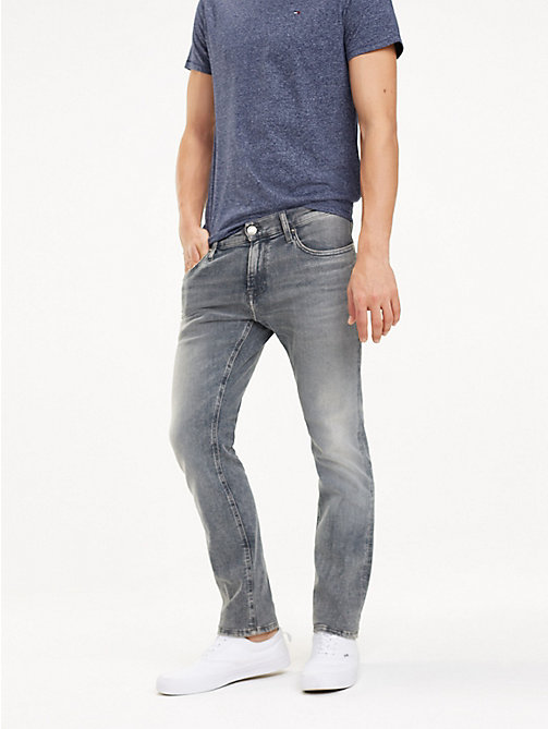 TOMMY JEANS Scanton Slim Fit Jeans - DEVON GREY STR - TOMMY JEANS Jeans - main image