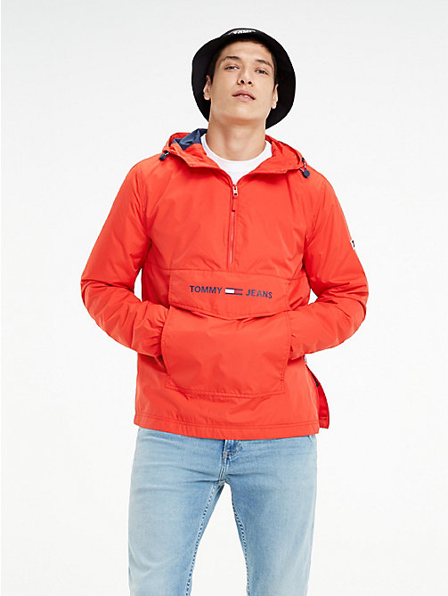 ab81dee4 TOMMY JEANSLightweight Pull-On Hooded Jacket