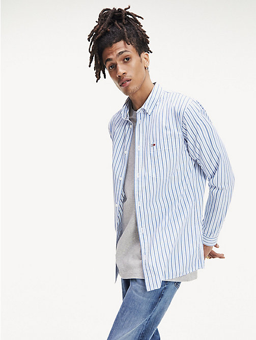 135fc7f67817 Мужские рубашки Tommy Jeans | Tommy Hilfiger® RU