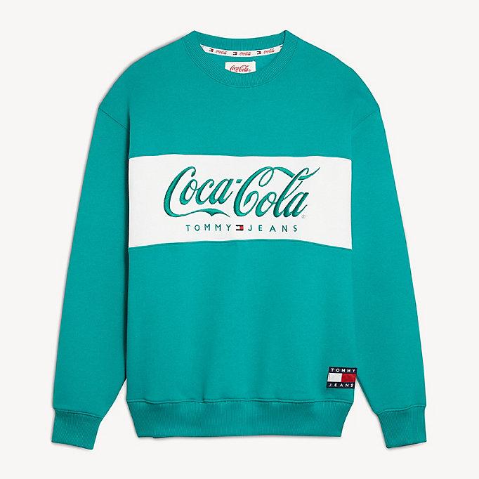 pull tommy hilfiger coca cola