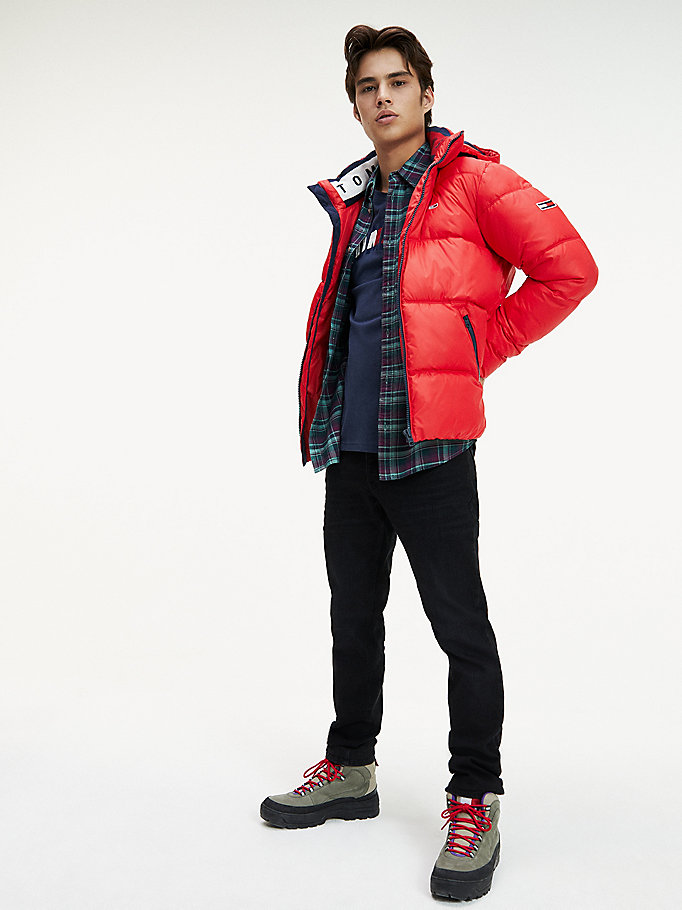 Essential Puffer Jacke aus Recycling Stoff
