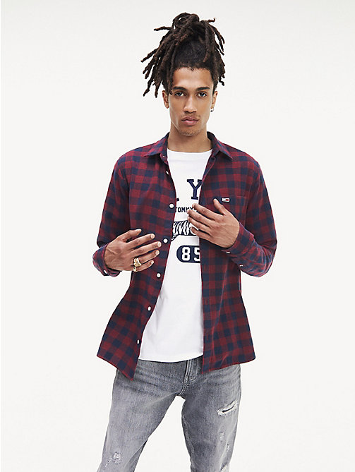 quite nice 6d892 2d1fe Camicie da Uomo Tommy Jeans   Tommy Hilfiger® IT