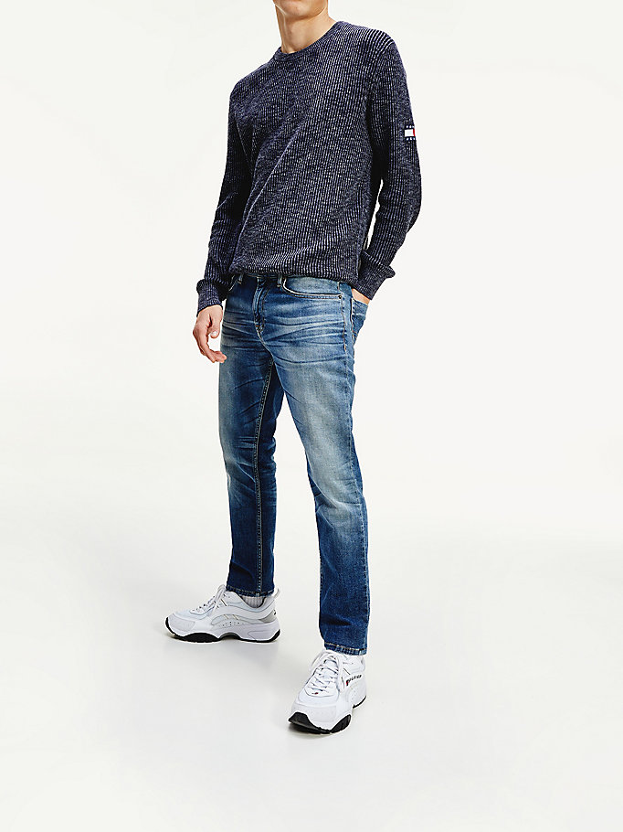 denim scanton faded slim fit jeans for men tommy jeans