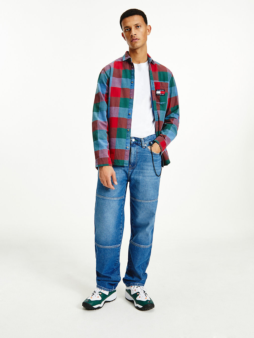 TOMMY JEANS  - TJ SAVE FA LIGHT BLUE RIG -   - main image