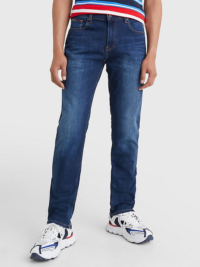 denim ryan relaxed fit faded jeans for men tommy jeans