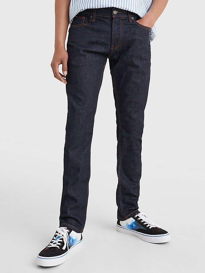 denim scanton recycled cotton slim fit jeans for men tommy jeans