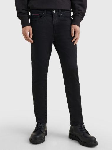 Tapered Slim Fit Black Jeans