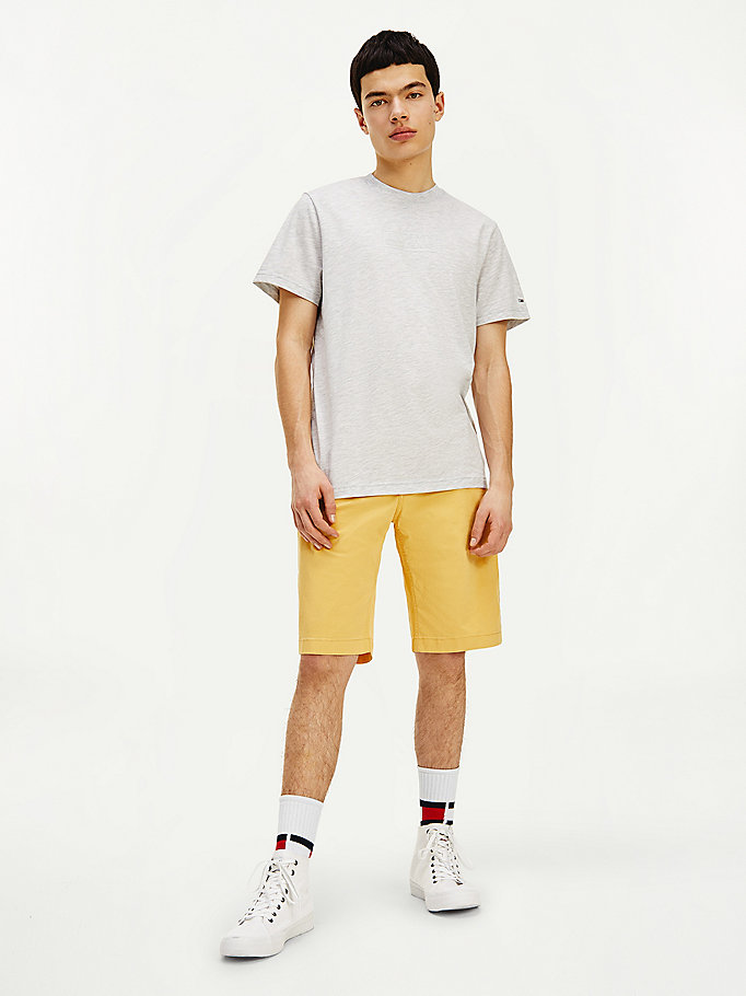 grey tonal logo t-shirt for men tommy jeans