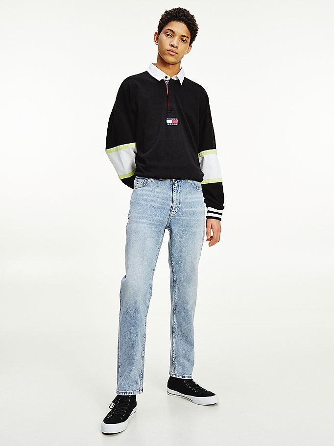 denim dad tapered faded jeans for men tommy jeans