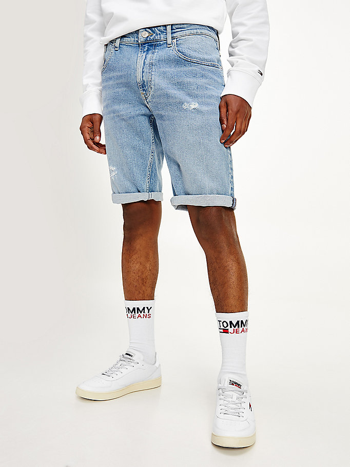 short en denim coupe décontractée denim pour men tommy jeans