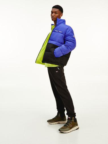 Recycling-Puffer-Jacke zum Wenden
