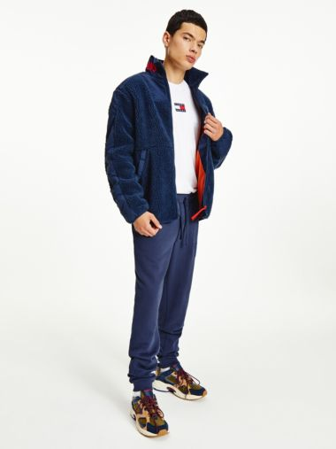 Текстурная куртка на застежке-молнии с фирменным воротом