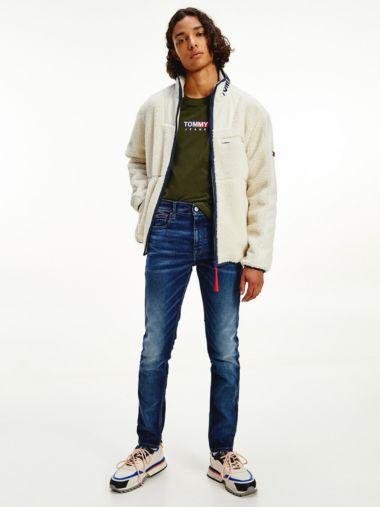 Simon Skinny Faded Jeans