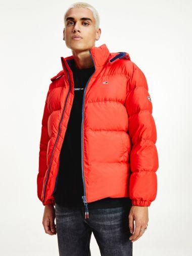 Essential Down Hooded Jacket