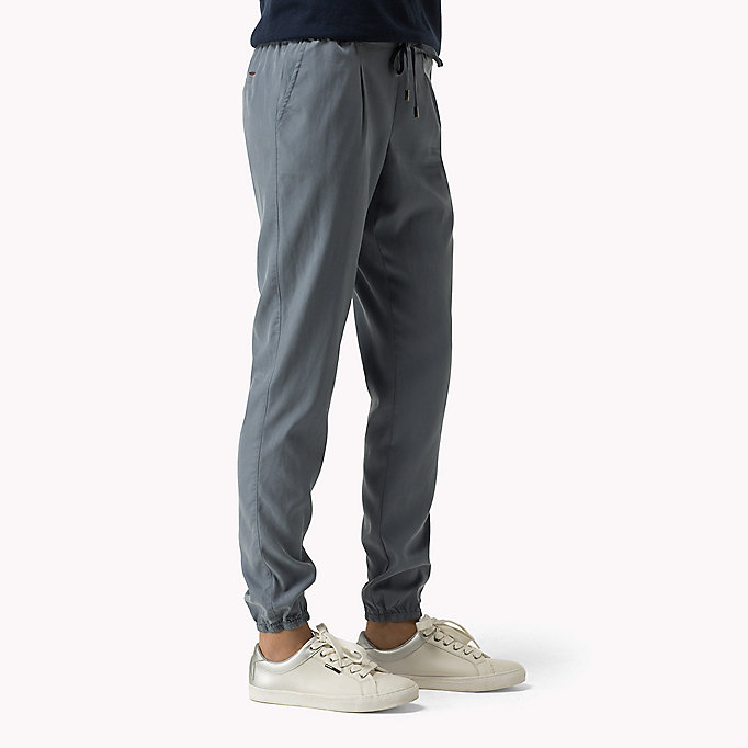 TOMMY JEANS Tencel Blend Sweatpants - NAVY BLAZER - TOMMY JEANS Clothing - detail image 2
