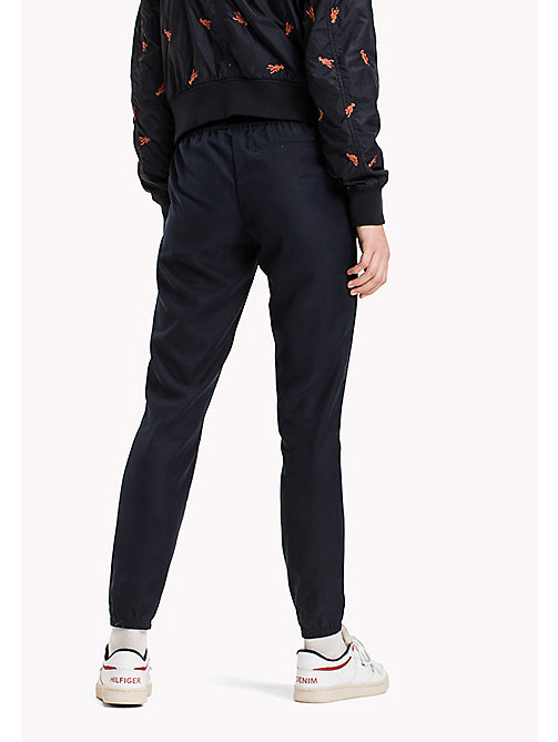 TOMMY JEANS Tencel Blend Sweatpants - NAVY BLAZER -  Trousers - detail image 1
