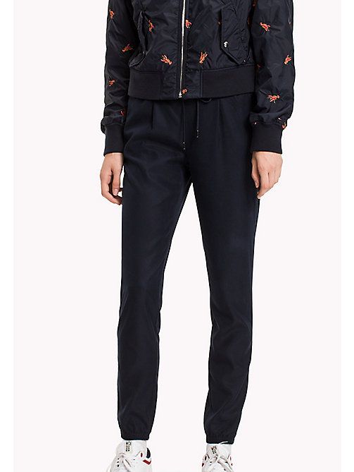 TOMMY JEANS Tencel Blend Sweatpants - NAVY BLAZER - TOMMY JEANS Trousers - main image