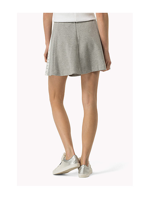 TOMMY JEANS Jersey Mini Skirt - MID GREY HEATHER - TOMMY JEANS Women - detail image 1