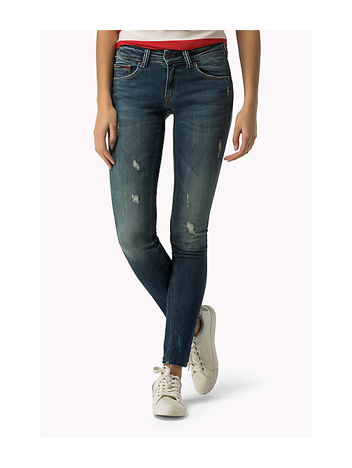 TOMMY JEANS Sophie Skinny Fit Jeans - DYNAMIC AGED STRETCH DESTRUCTED - TOMMY JEANS Women - main image