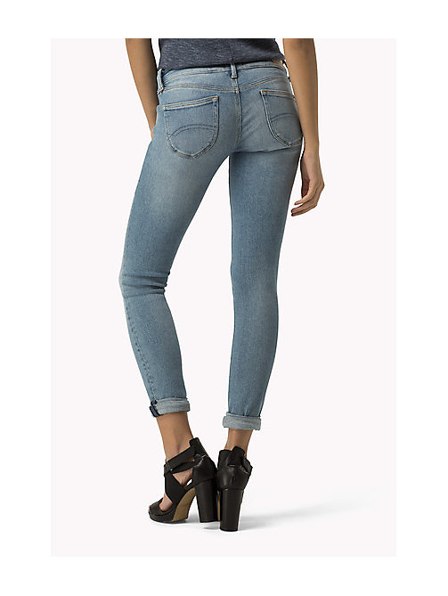 TOMMY JEANS Sophie Skinny Fit Jeans - DYNAMIC DUSK BLUE STRETCH - TOMMY JEANS Women - detail image 1