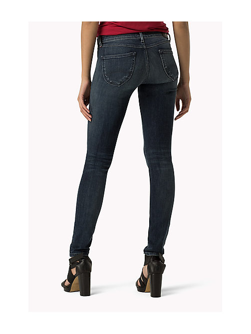 TOMMY JEANS Sophie Skinny Fit Jeans - DYNAMIC DEEP BLUE STRETCH - TOMMY JEANS Women - detail image 1