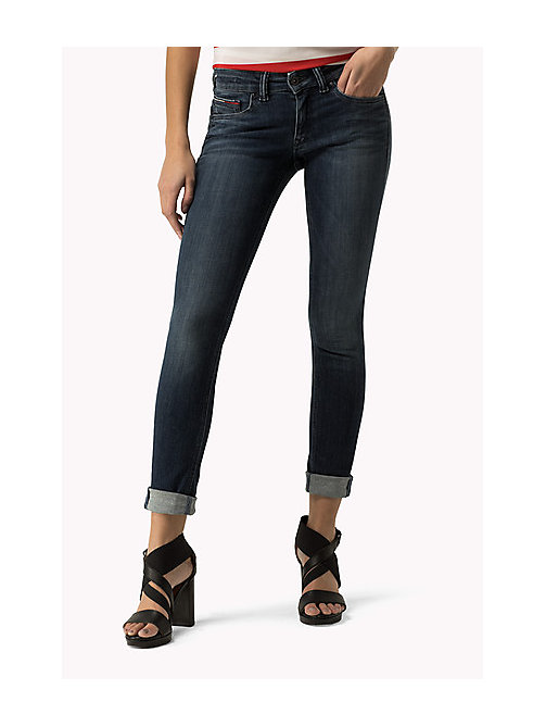 TOMMY JEANS Sophie Skinny Fit Jeans - DYNAMIC DEEP BLUE STRETCH - TOMMY JEANS Women - main image