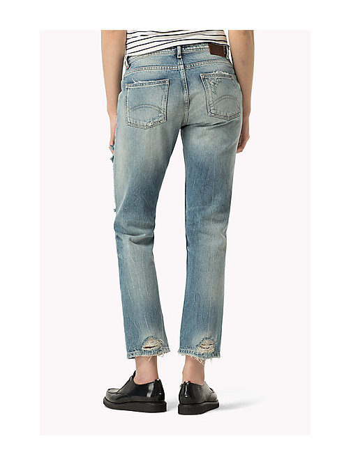TOMMY JEANS Cropped Straight Fit Jeans - LIGHT REPAIRED RIGID - TOMMY JEANS Jeans - detail image 1