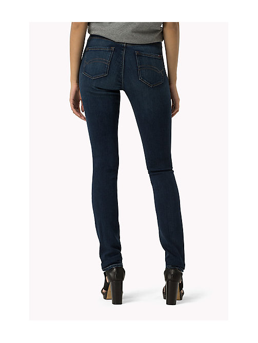 TOMMY JEANS High Rise Skinny Fit Jeans - PROTECT DARK BLUE - TOMMY JEANS Women - detail image 1