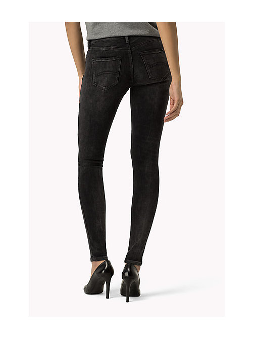 TOMMY JEANS Nora Skinny Fit Ankle Jeans - DYNAMIC X GREY WASHED - TOMMY JEANS Women - detail image 1