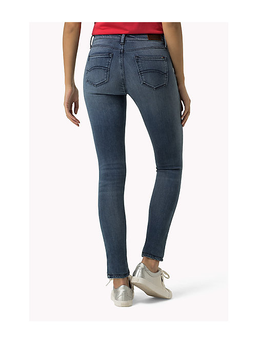 TOMMY JEANS Nora Skinny Fit Jeans - DYNAMIC X SIMPLE CLASSIC BLUE - TOMMY JEANS Women - detail image 1