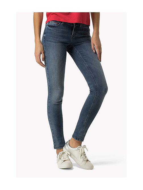 TOMMY JEANS Nora Skinny Fit Jeans - DYNAMIC X SIMPLE CLASSIC BLUE - TOMMY JEANS Women - main image