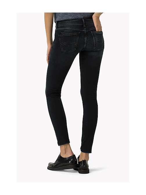 TOMMY JEANS Low Rise Skinny Fit Jeans - HARLEM BLUE STRETCH - TOMMY JEANS Women - detail image 1