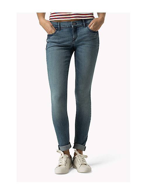 TOMMY JEANS Nora Skinny Fit Jeans - ATLANTIC BLUE STRETCH - TOMMY JEANS Clothing - main image