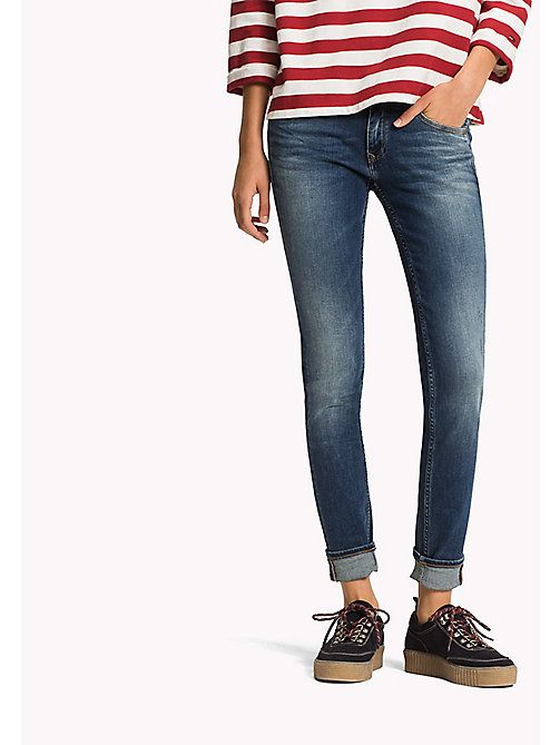 TOMMY JEANS Узкие джинсы - INDUSTRIAL BLUE STRETCH - TOMMY JEANS Одежда - главное изображение