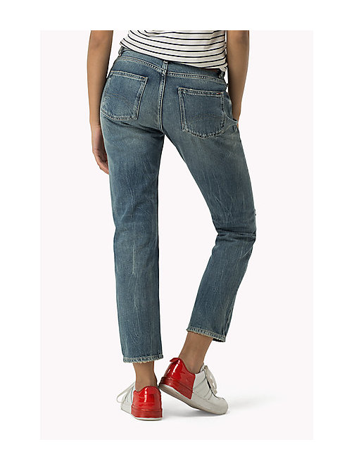 TOMMY JEANS Cropped straight fit jeans - REDHOOK MID RIGID - TOMMY JEANS Jeans - detail image 1